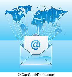 komunikacja, email