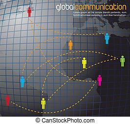 komunikacja, globalny