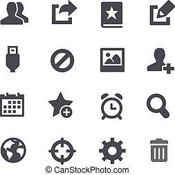 //, komunikacja, interfa, apps, ikony