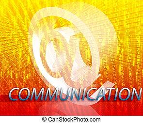 komunikacja, online