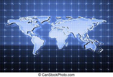 komunikacje, globalny