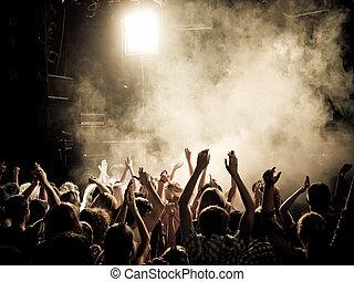 koncert, flok