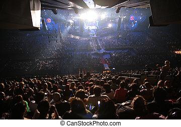 koncert, národ