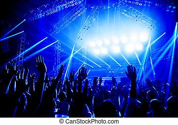 koncert, skała