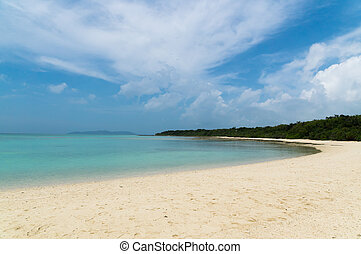 Kondoi Beach in Taketomi Island