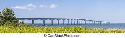 konfederacja, most, panorama