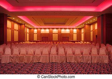 konferencia előszoba