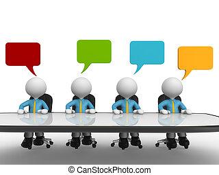 konferencyjny stół