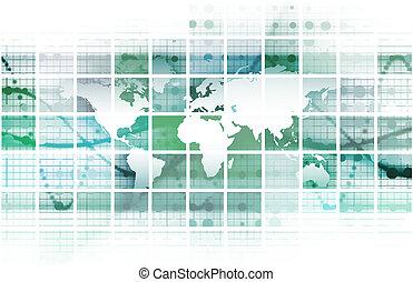 konferens, global