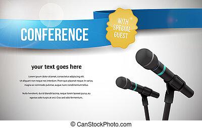 konferenz, abbildung