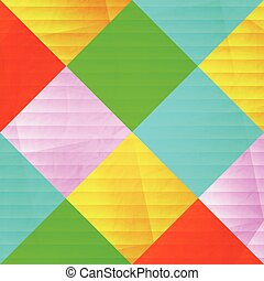 konfetti - abstract, colorful pattern over paper texture....