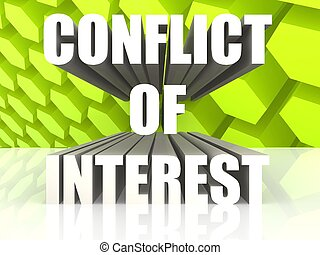 konflikt, zainteresowanie