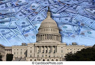 kongresszus, költés, -e, pénz.
