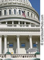 kongresszus székháza washingtonban, közelkép