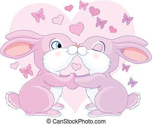konijnen, valentijn