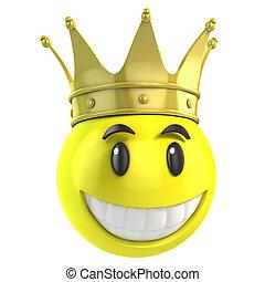koning, smiley