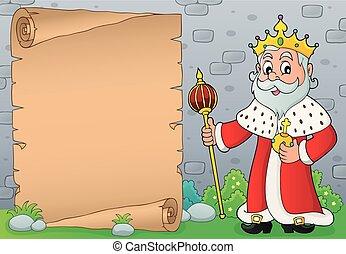 koning, topic, perkament, 5