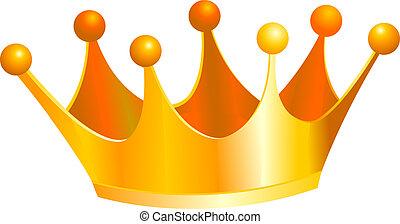 koningen, kroon
