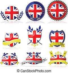 koninkrijk, verenigd, kentekens