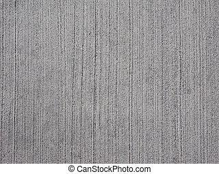 konkret, trottoar, grå, bakgrund