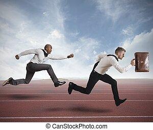 konkurrenz, geschaeftswelt