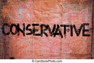 konservativ, begriff
