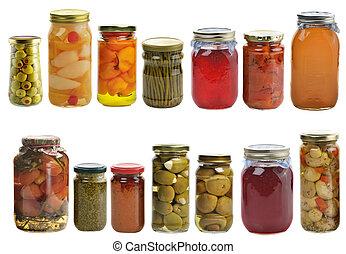 konserveret mad, samling