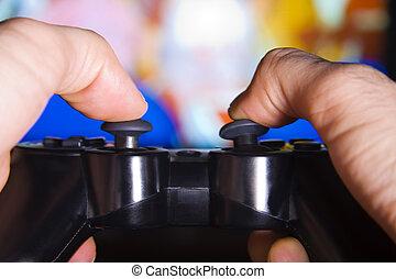 &, konsole, freizeit, unterhaltung