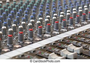 konsole, mixer