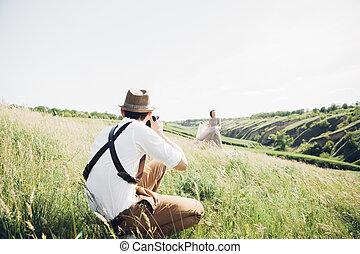 konst, tar, natur, fotograf, brudgum, brud, bröllop, bilder, fin, foto