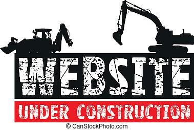 konstrukce, website