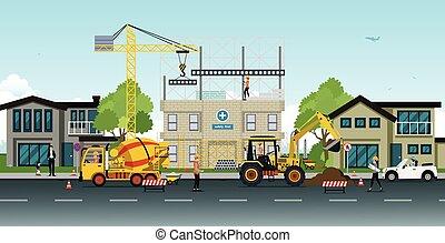 konstruktion arbejd
