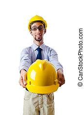 konstruktion, byggmästare, begrepp, säkerhet