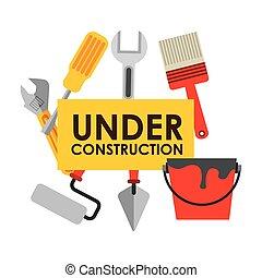 konstruktion, konstruktion, under