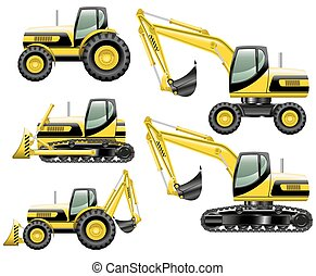 konstruktion, maskiner