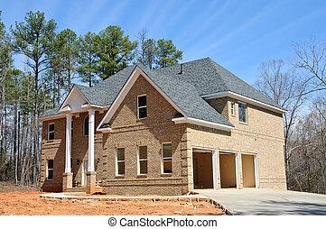konstruktion, nytt hem