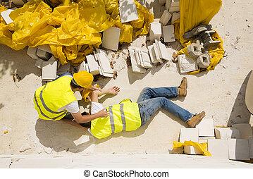 konstruktion, olycka