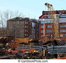 konstruktion, plats