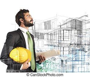 konstruktion, projekt