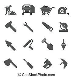 konstruktion sæt, iconerne