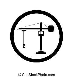 konstruktion, symbol, vektor