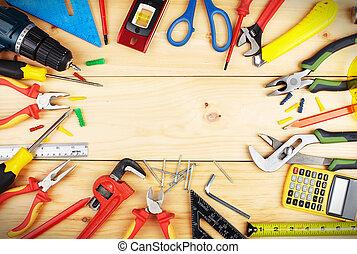 konstruktion, tools.
