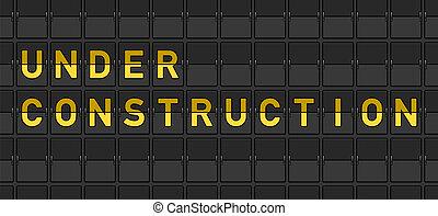 konstruktion under, bord, flip