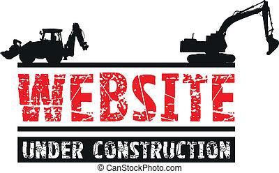 konstruktion, website