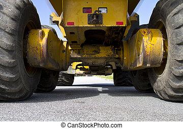 konstruktionsfahrzeug
