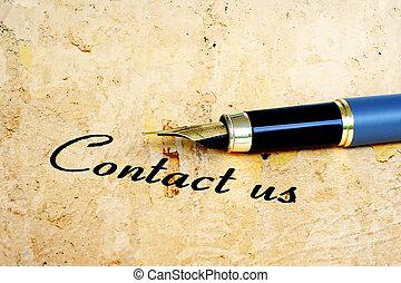 kontakt na
