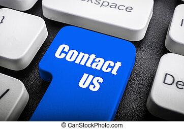 kontakt oss, nyckel