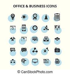&, kontor, affärsverksamhet ikon