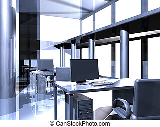 kontor, metall