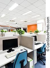 kontorsarbete, plats
